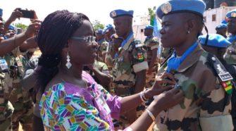 Mali/Maintien de la Paix : des casques bleus togolais décorés à la médaille des Nations Unies