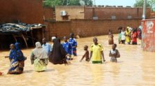 Inondations à Niamey, Issoufou chausse ses bottes pour constater les dégâts (2)