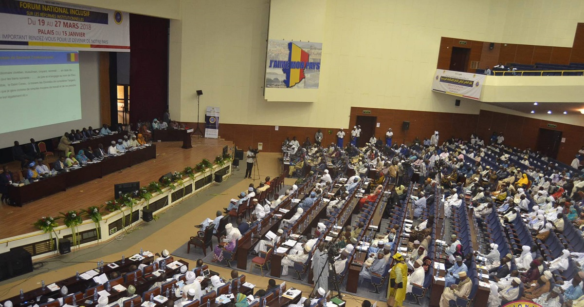 Le 2ème Forum national inclusif tchadien boudé par l'opposition
