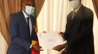 Robert Dussey a transmis le message de Faure Gnassingbé au président malien Bah N'Daw
