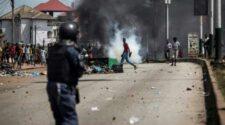 La violence post électorale en Guinée de retour