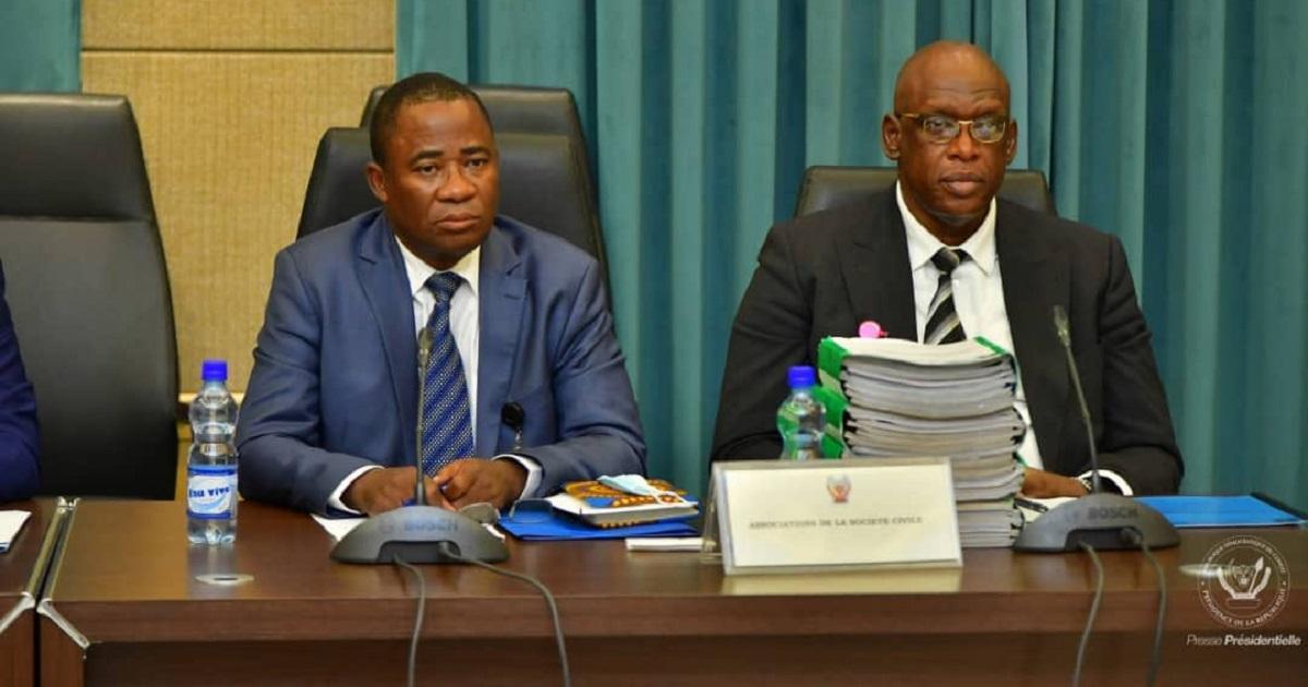 Consultations nationales en RDC : la société civile a fait ses propositions au chef de l'Etat