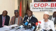 l'opposition burkinabè menace de ne pas reconnaître les résultats