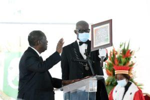 Alassane Ouattara prête serment