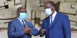 KKB et Alassane Ouattara