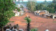 calme à Bangui