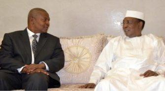Touadéra avec le Tchad