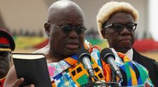 Officially invested of President Nana Akufo-Addo