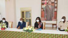 la Présidence du Togo honore ses agents en retraite