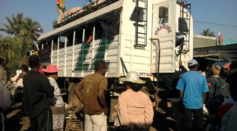 Taxis brousse à Madagascar, interdiction de transport