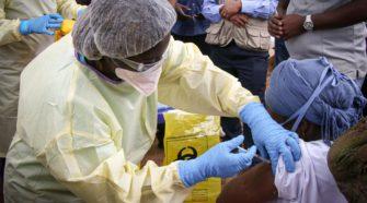 Démarrage de vaccination contre Ebola