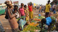 denrees alimentaires en Centrafrique