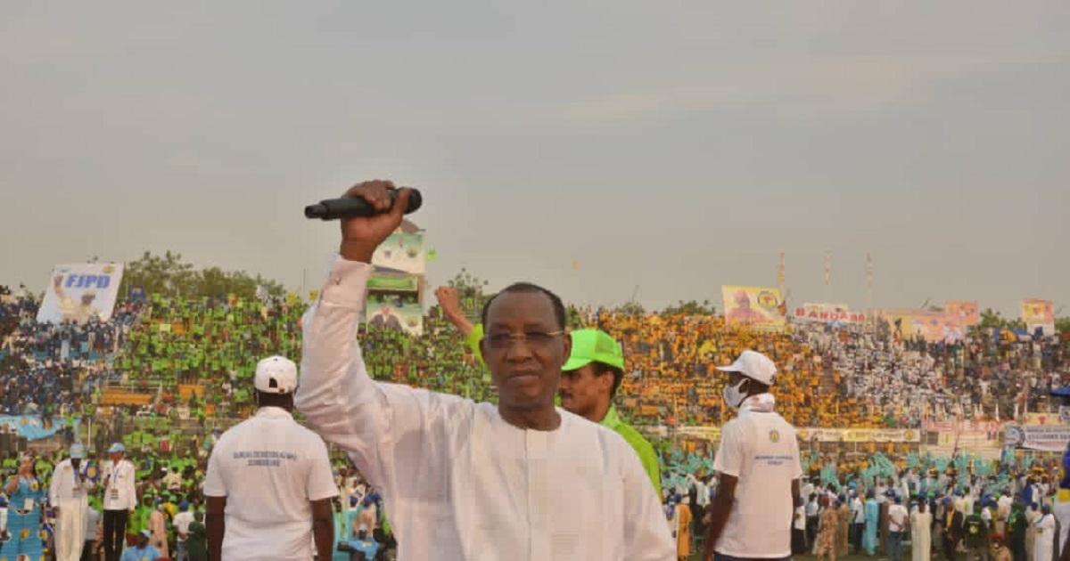 Tchad: Idriss Déby en campagne pour sa réélection