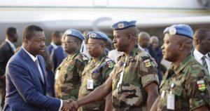 MINUSMA, le message de Faure Gnassingbé livré aux militaires blessés et au reste du contingent togolais