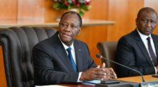 decisions du president Ouattara