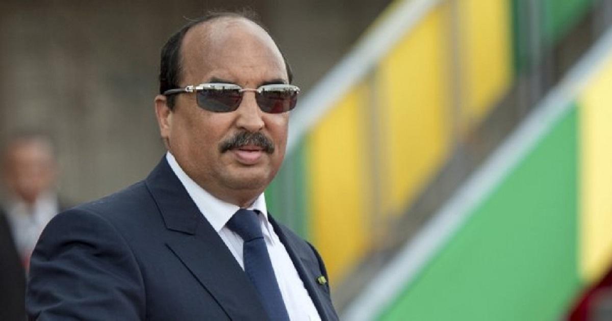 la résidence privée de l'ancien président mauritanien partiellement démolie