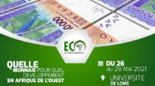 Monnaie éco: un colloque international démarré ce jeudi à Lomé