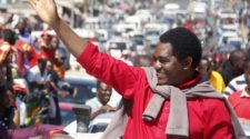 Presidential election: the main Zambian opposition leader Hakainde Hichilema, candidate