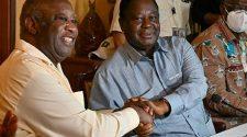 Couple Gbagbo-Bédié: les rivalités se sont mutées en point d'entente. Bon signe ???