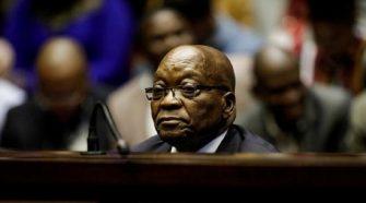 Afrique du Sud: l'incarceration de Jacob Zuma met le feu aux poudres