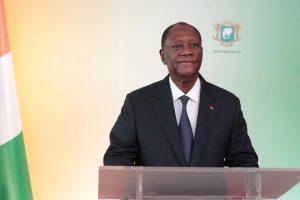 président ivoirien Ouattara Alassane