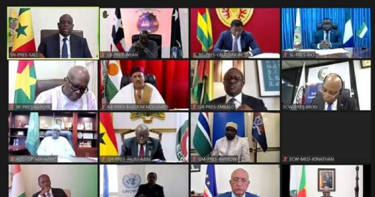 Sommet extraordinaire de la Cedeao : la Guinée suspendue